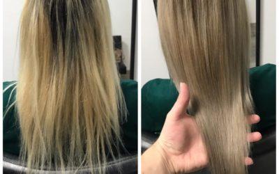 Mi a teendő a nagyon roncsolt haj esetén ?